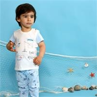 Baby Boy Little Fisher Pyjamas Set
