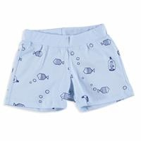 Baby Boy Little Fisher Printed Short