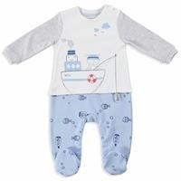 Baby Boy Little Fisher Romper