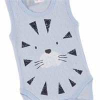 Lion Baby Boy Athlete Bodysuit
