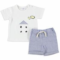 Baby Boy Home Tshirt Short Set