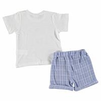Baby Boy Like Dad Tshirt Short Set