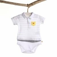 Sailor Duck Baby Polo Neck Bodysuit