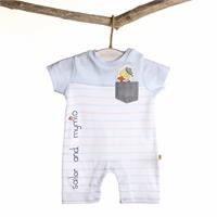 Sailor Duck Baby Short Romper