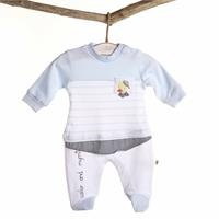 Baby Boy Sailor Duck Romper