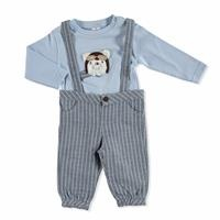 Baby Pliot Jumpsuit Sweatshirt Set