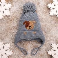 Winter Baby Boy Beanie