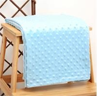 Winter Baby Boy Fleece Blanket