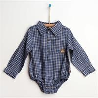 Baby Dino Cotton Long Sleeve Shirt