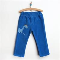 Baby Velvet Dinosaur Velvet Covered Single Pants