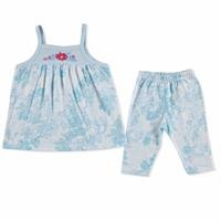 Summer Baby Girl Flower Supreme T-shirt Short 2 pcs Set