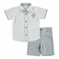 Summer Baby Boy Shirt Short 2 pcs Set