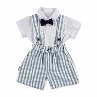 Bebek Papyonlu Gömlek - Şort