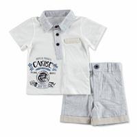 Bebek Tropical Gömlek-Şort