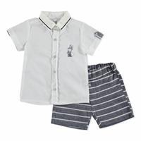 Bebek Balıksırtı Tshirt-Şort