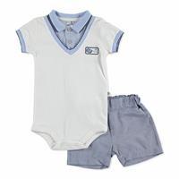 Bebek Nakışlı Tshirt-Şort