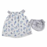 Summer Flower Baby Girl Cotton Dress