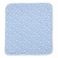 Blue Cloud Patterned Multipurpose Baby Blanket