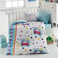 Baby Car Patterned Duvet Cover Set