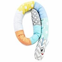 Caterpillar Baby Pillow Blue