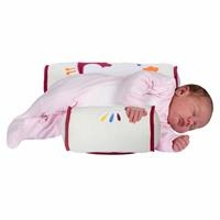 Embroidered Baby Safe Sleep Side Sleeping Pillow
