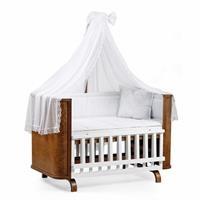 Baby Milan Wooden Baby Cradle