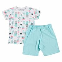 Cactus Feature Printed Short Sleeve Baby Pyjamas