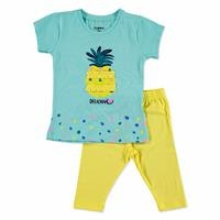 Summer Baby Girl Pineapple T-shirt Leggings