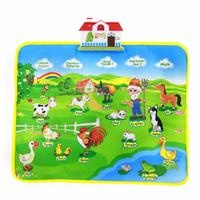 Educational Farm Carpet Small Size