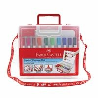 Faber Castell Whiteboard Pen with Bag 10 Colors