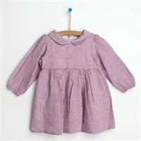 Kış Basic Müslin Bebek Elbise