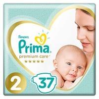 Baby Diaper Premium Care Size 2 Mini Economic Pack 4-8 kg 37 pcs