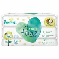 Pampers Coconut Pure Wet Towel 3 pcs 126 (3X42)