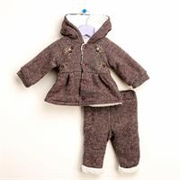 Angel Baby Welsoft Cardigan Trousers Set