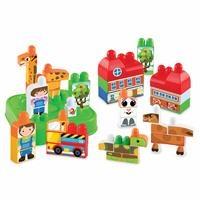 Akıllı Çocuk Sevimli Hayvanlar Bloklar 48 Parça