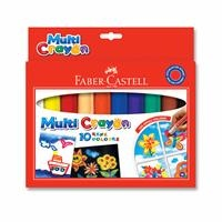 Faber Castell Multi Crayon Pastel Paint 10 Color