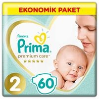 Baby Diaper Premium Care Size 2 Mini Economic Pack 4-8 kg 60 pcs