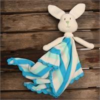 Amigurumi Rabbit Hanky - Baby Boy