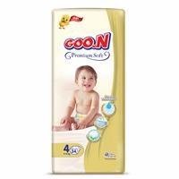 Premium Soft Baby Diaper Size 4 Jumbo Pack 9-14 kg 34 pcs