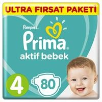 Active Baby Diapers Size 4 Maxi Ultra Advantage Pack 10-15 kg 80 pcs