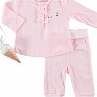 Bebek Unicorn 3lü Pijama Takımı