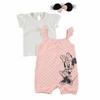 Bebek Minnie Mouse Lisanslı Salopet