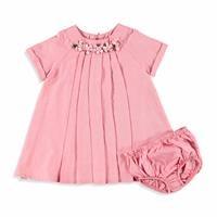 Bebek Gul Pileli Elbise