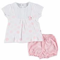 Kız Bebek Ketrin Şort Tişört Takım