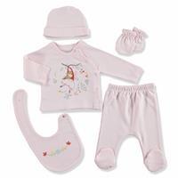 Little Girl Newborn Baby Hospital Pack 5 pcs