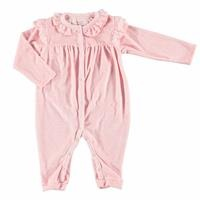 Baby Lacy Detail Footless Romper