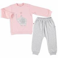 Little Elephant Interlock Baby Sweatshirt Trousers 2 pcs