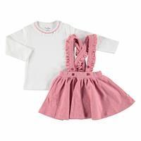 Kış Kız Bebek Bella Sweatshirt Jile 2li Takım