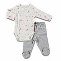 Kış Kız Bebek Yumyum Zıbın Body Patikli Alt 2li Takım