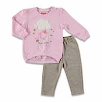 Magical Unicorn Baby Silvery Tracksuit Set